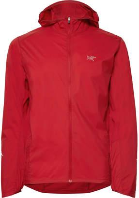 Arc'teryx Incendo Mesh-Panelled Lumin Hooded Jacket