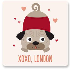 Pugs & Kisses Custom Stickers