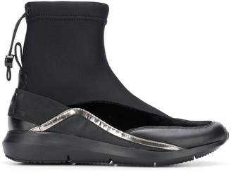 Karl Lagerfeld elasticated ankle boots