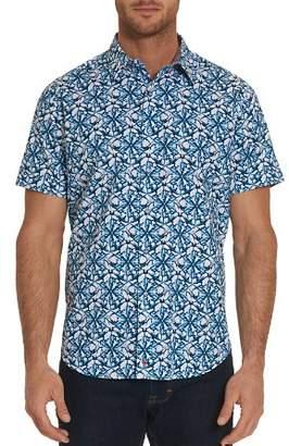 Robert Graham Jaws Pattern Regular Fit Button-Down Shirt - 100% Exclusive