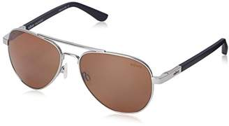 Revo Raconteur RE 1011 03 BR Polarized Aviator Sunglasses