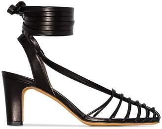 353e2ae35e9 Maryam Nassir Zadeh Maribel 85 ankle strap caged sandals