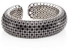 John Hardy Dot Medium Sterling Silver Flex Cuff