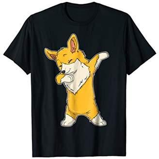 Corgi Dabbing T shirt Welsh Corgis Dab Dance Funny Gifts