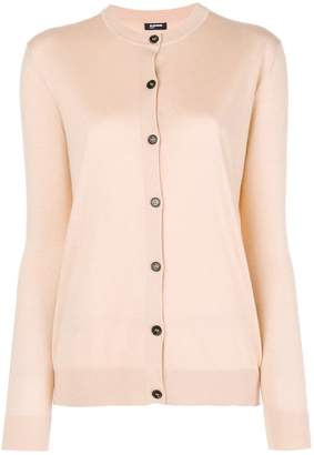 Jil Sander Navy long-sleeve fitted cardigan