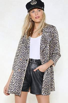 Nasty Gal Wild at Heart Leopard Jacket