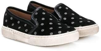 Pépé polka dots slippers