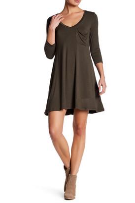 Socialite V-Neck Shift Dress $48 thestylecure.com