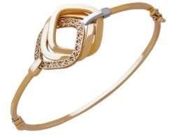 Lord & Taylor 14K Yellow Gold Bangle Bracelet