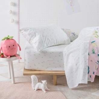 Hiccups Strawberry Fields Cotton Sheet Set