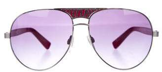 Just Cavalli Tinted Aviator Sunglasses