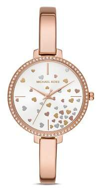 Michael Kors Jaryn Rose Gold-Tone Watch, 36mm