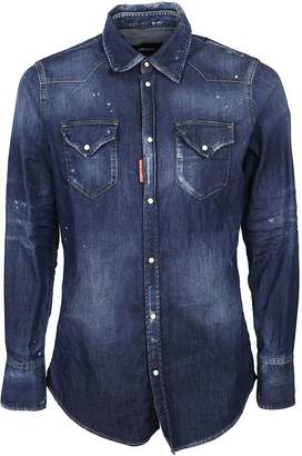 DSQUARED2 Long Denim Jacket