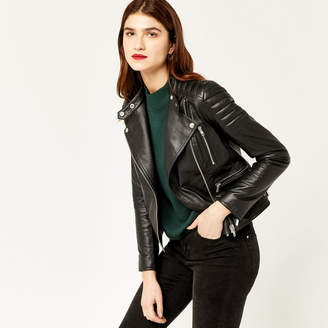 Warehouse Moto Leather Biker Jacket