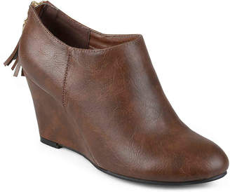 Journee Collection Colins Wedge Bootie - Women's