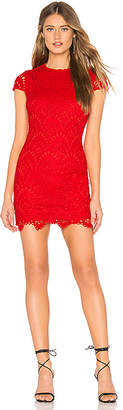 by the way. Janette Lace Mini Dress