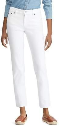 Ralph Lauren Straight Leg Jeans in White