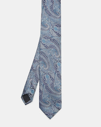 Paisley pattern silk tie $105 thestylecure.com