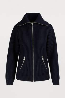 Acne Studios Chunky knit zippered cardigan
