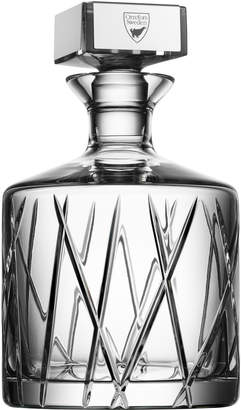 """Orrefors Crystal Decanter """"City"""""""