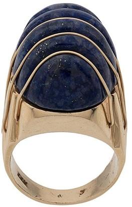 Katheleys Vintage 1970's embossed oval ring