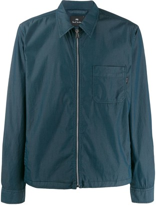 Paul Smith full-zipped shirt jacket