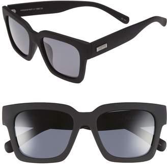 Le Specs 'Weekend Riot' 55mm Sunglasses