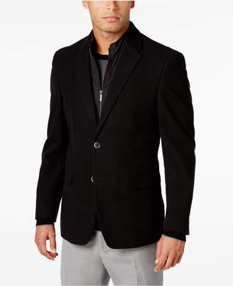Tommy Hilfiger Men's Slim-Fit Sport Coat with Removable Vest Insert $295 thestylecure.com