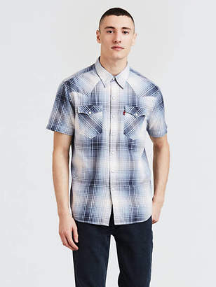 Levi's Short Sleeve Barstow Western Shirt Chambray