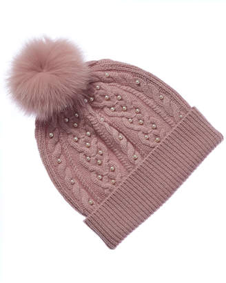 Sofia Cashmere Cashmere Pearl Hat