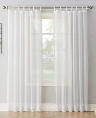 "Lichtenberg No. 918 Sheer Voile 59"" x 63"" Tab Top Curtain Panel"