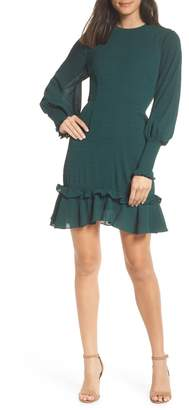 Chelsea28 Ruffle A-Line Dress