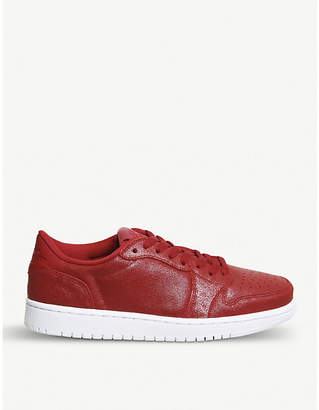 Nike Jordan 1 Retro leather low-top trainers