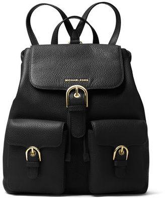 MICHAEL Michael Kors Cooper Large Flap Backpack $398 thestylecure.com