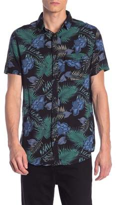 Sovereign Code Folks Tropical Print Regular Fit Shirt
