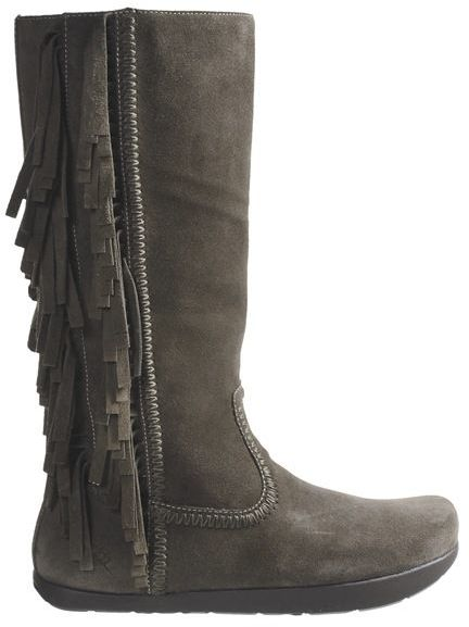 Earth Blaze Boots - Suede (For Women) 5
