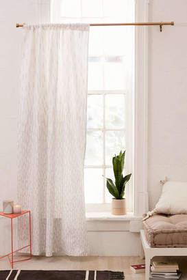 Modern Print Blackout Window Curtain