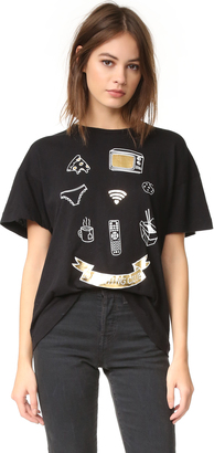 Wildfox Nothing Club Tee $64 thestylecure.com