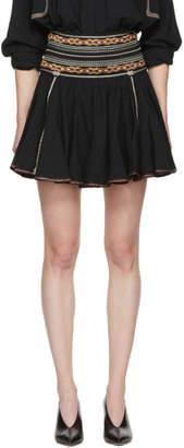 Etoile Isabel Marant Black Breeda Miniskirt