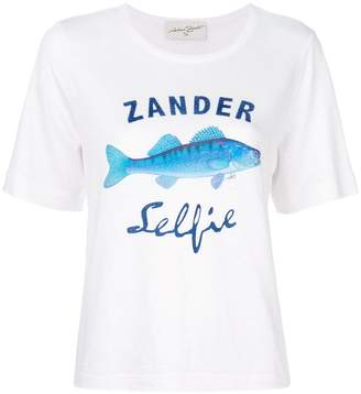 Antonia Zander fish print T-shirt