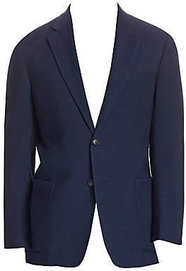 Emporio Armani Men's G Line Notch Lapel Wool Jacket