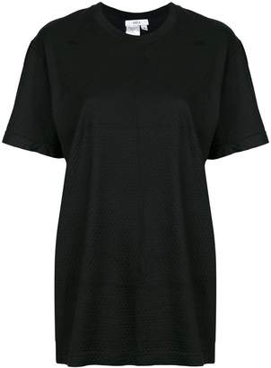 Area perforated T-shirt
