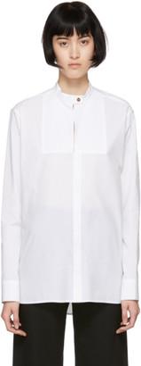 Rosetta Getty White Tuxedo Shirt
