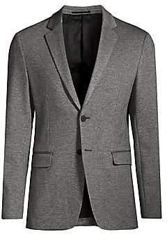 Theory Men's Slim-Fit Marled Ponte Single-Breasted Jacket