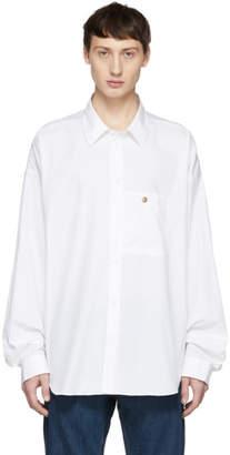 Acne Studios White Bla Konst Gianni Shirt