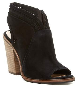 Vince Camuto Koral Perforated Suede Bootie - Slim Width Available