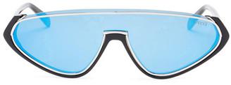 Emilio Pucci Women's Shield Sunglasses $335 thestylecure.com