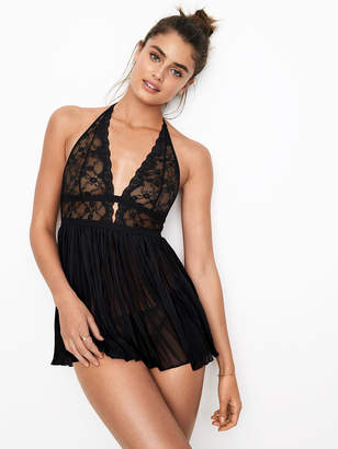 Very Sexy Pleated Babydoll Lingerie