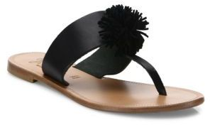 Joie Nadie Leather Thong Sandals $158 thestylecure.com