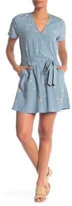 Susina Patterned Belt Dress (Regular & Petite)